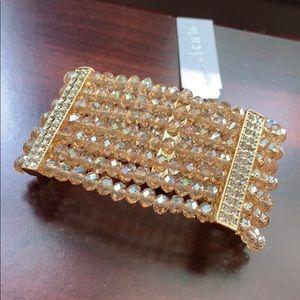 NWT Glam bracelet! Sparkly!